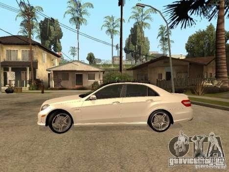 Mercedes-Bens e63 AMG для GTA San Andreas вид слева
