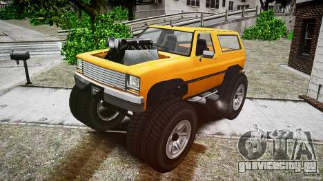 MonsterTruck для GTA 4