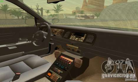 Ford Crown Victoria Maryland Police для GTA San Andreas вид сзади слева