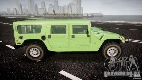 Hummer H1 для GTA 4 вид сверху