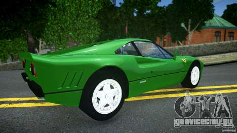 Ferrari 288 GTO EPM для GTA 4 вид сзади слева