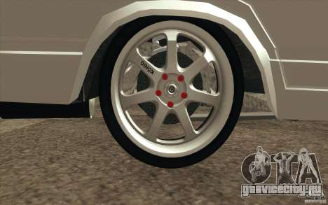 ВАЗ-2107 Lada Drift для GTA San Andreas салон