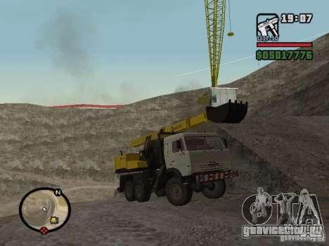 КамАЗ UDS для GTA San Andreas