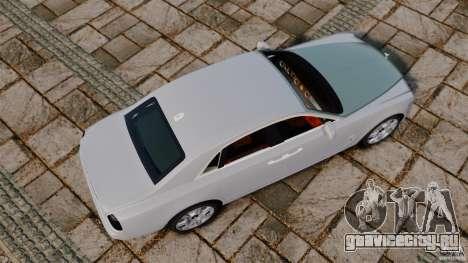 Rolls-Royce Ghost 2012 для GTA 4 вид справа