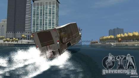 Benson boat для GTA 4 вид снизу