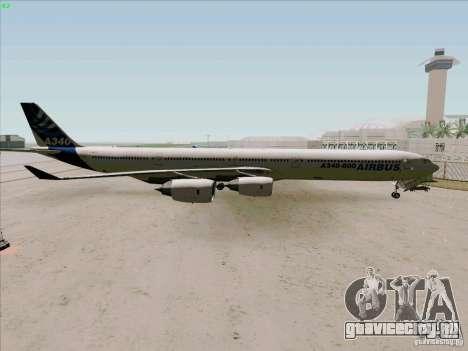 Airbus A-340-600 для GTA San Andreas вид слева