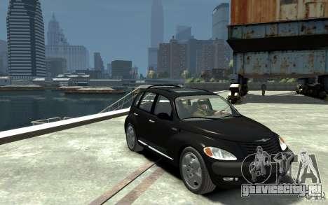 Chrysler PT Cruiser для GTA 4 вид сзади