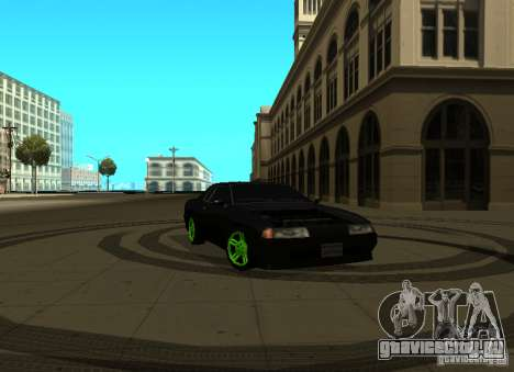 Elegy Green Drift для GTA San Andreas
