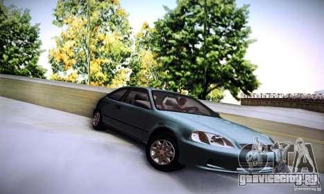 Honda Civic EK9 для GTA San Andreas вид справа