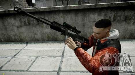 Accuracy International AS50 для GTA 4 третий скриншот