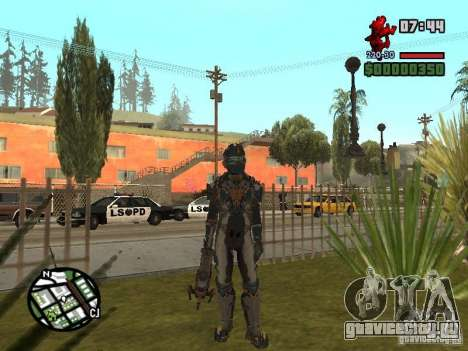 Костюм из игры Dead Space 2 для GTA San Andreas второй скриншот