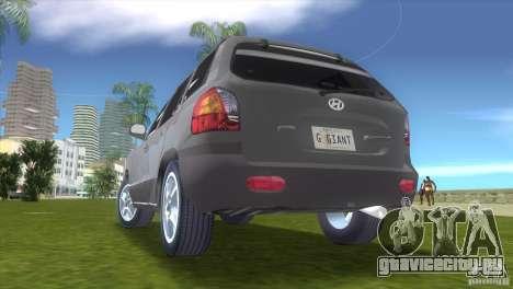Hyundai Sante Fe для GTA Vice City вид справа