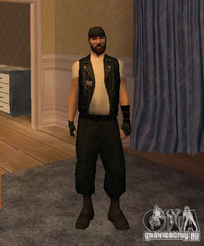 Новые скины Байкеров для GTA San Andreas восьмой скриншот