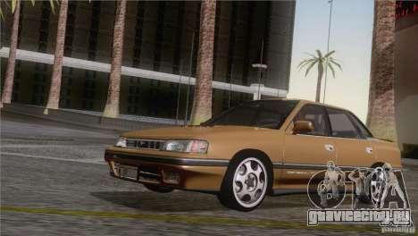 Subaru Legacy RS для GTA San Andreas вид сзади слева