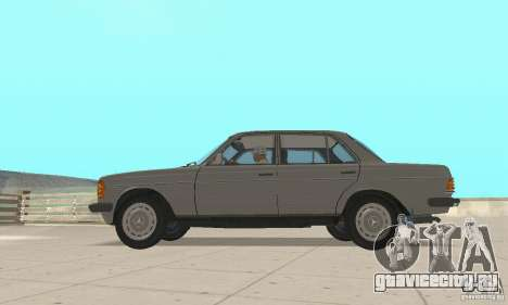 Mercedes-Benz 230 W123 для GTA San Andreas вид справа
