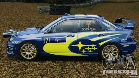 Subaru Impreza WRX STI N12 для GTA 4 вид слева