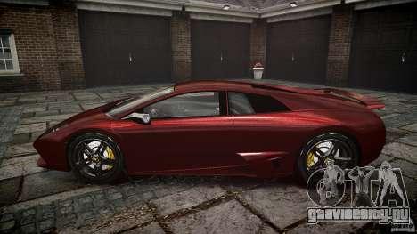 Lamborghini Murcielago v1.0b для GTA 4 вид изнутри