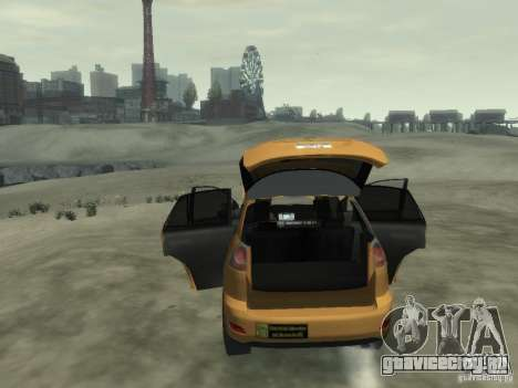 Lexus RX400 New York Taxi для GTA 4 салон
