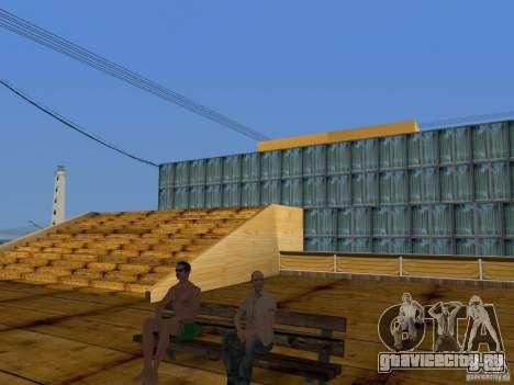 Новые текстуры пляжа v2.0 для GTA San Andreas седьмой скриншот