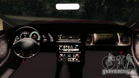 Chevrolet Corvette Z05 для GTA Vice City вид справа