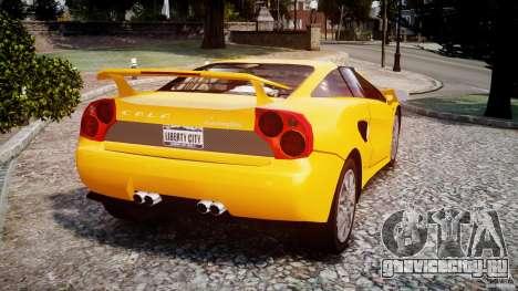 Lamborghini Cala для GTA 4 вид сзади слева