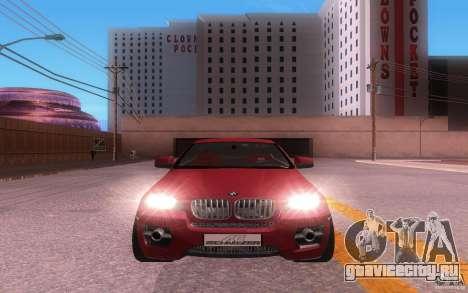 BMW X6 Tuning для GTA San Andreas вид слева