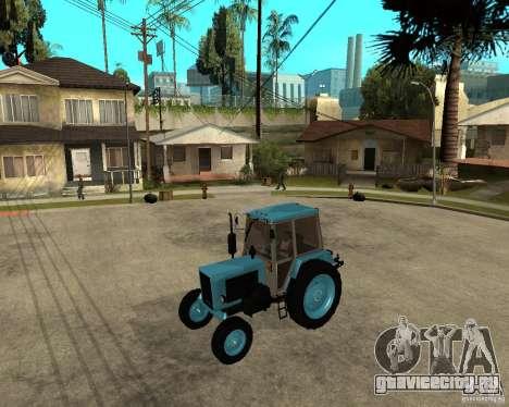 Трактор Беларусь 80.1 и прицеп для GTA San Andreas