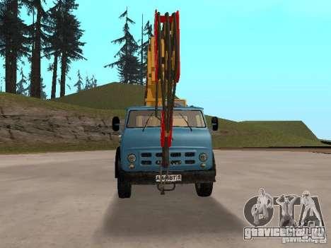 МАЗ КС3577-4-1 Ивановец для GTA San Andreas вид сзади слева