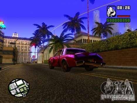 Timecyc BETA 2.0 для GTA San Andreas второй скриншот