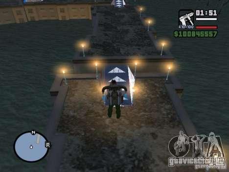 Night moto track для GTA San Andreas седьмой скриншот