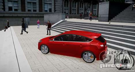 Ford Focus ST 2012 для GTA 4 вид слева