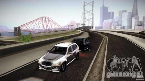 BMW X5 with Wagon BEAM Tuning для GTA San Andreas вид справа
