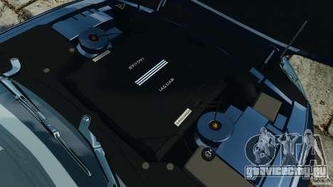 Jaguar XKR-S Trinity Edition 2012 v1.1 для GTA 4 вид сбоку