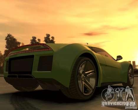 2010 Saleen S5S Raptor для GTA 4 вид сзади слева