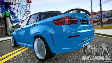 BMW Х6 Hamann для GTA 4 вид сбоку