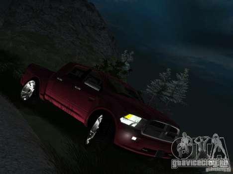 Dodge Ram 1500 Longhorn 2012 для GTA San Andreas
