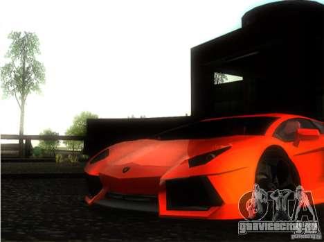 Lamborghini Aventador LP700 для GTA San Andreas