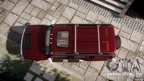 Hummer H3 для GTA 4 вид сверху