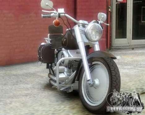 Harley Davidson FLSTF Fat Boy для GTA 4