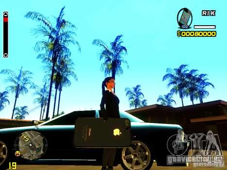 IPhone граната v2 для GTA San Andreas