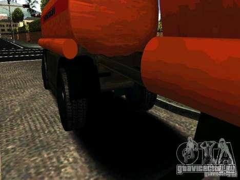 Прицеп к МАЗ  533702 Бензовоз для GTA San Andreas вид слева