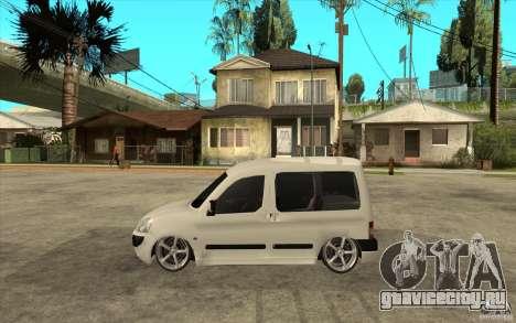 Citroen Berlingo 2007 для GTA San Andreas вид слева