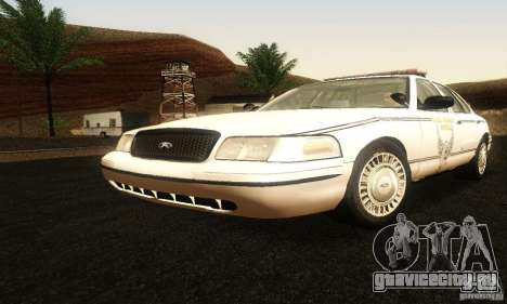 Ford Crown Victoria Ohio Police для GTA San Andreas