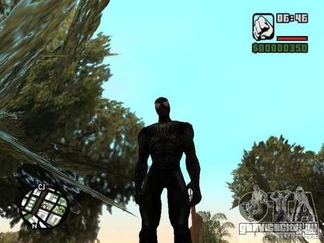 Человек паук враг в отражении для GTA San Andreas второй скриншот