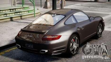 Porsche 911 Turbo для GTA 4 вид снизу
