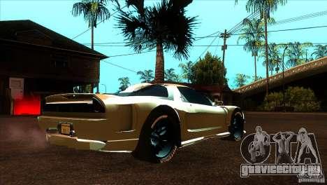 Honda NSX Extreme для GTA San Andreas вид справа