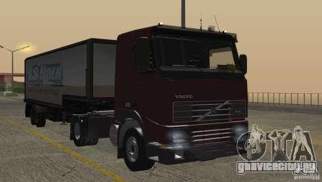 Volvo FH12 для GTA San Andreas салон