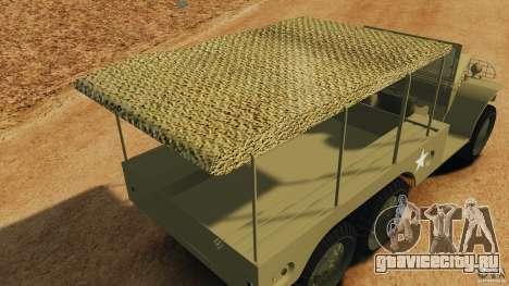 Dodge WC-62 3 Truck для GTA 4 салон