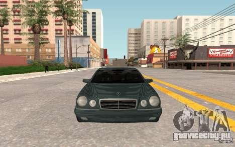 Mercedes Benz E420 W210 для GTA San Andreas вид слева