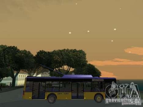 Троллейбус ЛАЗ Е-183 для GTA San Andreas вид сбоку